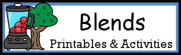 Blends Activities & Printables