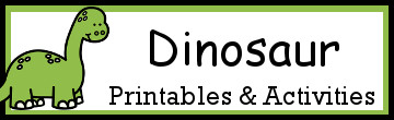 30+ Dinosaur Themed Activities and Printables