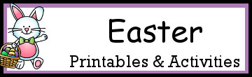 Easter Themed Printables and Activities