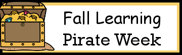 Fall Learning: Pirate Week