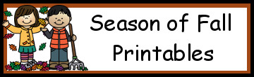 Season of Fall Printables