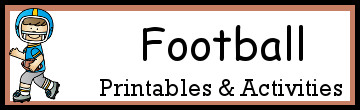 10+ Football Printables & Activities