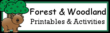 20+ Bear, Forest, and Woodland Animals Activities & Printables