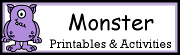 35+ Monster Printables & Activities