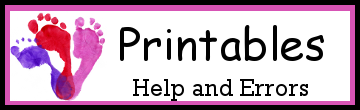 Printable Help & Error Messages