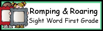 Romping & Roaring First Grade Sight Words Packs