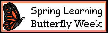 Spring Learning: Butterfly Week
