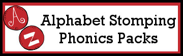 Alphabet Stomping Phonics Packs